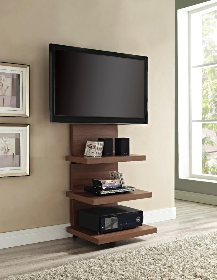 Brilliant Brand New Wall Mounted TV Stands With Shelves Throughout Best 25 Floating Tv Stand Ideas On Pinterest Tv Wall Shelves (Image 10 of 50)