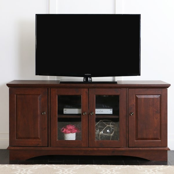 Brilliant Brand New Wayfair Corner TV Stands Throughout Walker Edison 52 Tv Stand Reviews Wayfair (View 34 of 50)