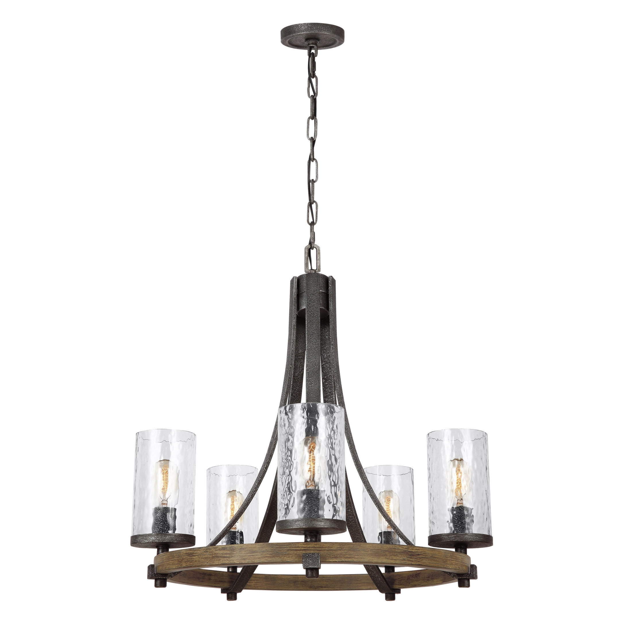Brilliant Candle Looking Chandelier Laurel Foundry Modern Throughout Candle Look Chandeliers (Image 7 of 25)