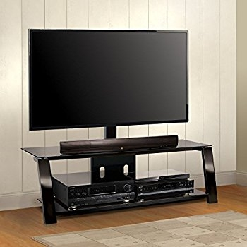 Brilliant Common Bell'O Triple Play TV Stands With Regard To Amazon Bello Tp4463 Triple Play 63 Tv Stand For Tvs Up To (Image 11 of 50)