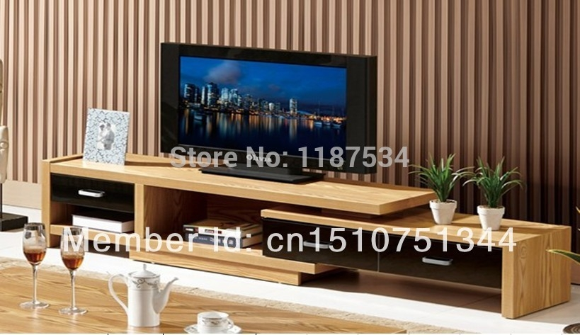 Brilliant Common Bench TV Stands With Elm Veneer Mdf Tv Stand Living Room Furniture Tv Bench Tv Cabinet (Image 5 of 50)