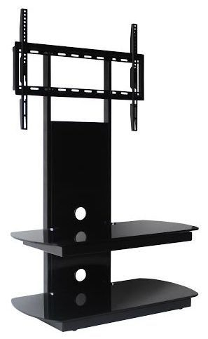 Brilliant Common Cantilever TV Stands Throughout Oval Glass Tv Stand (Image 8 of 50)