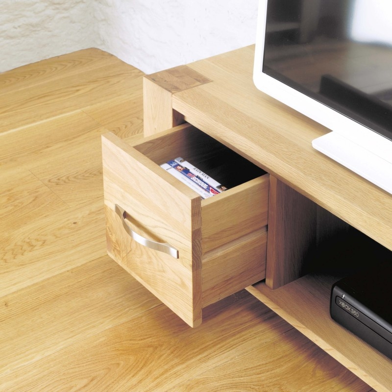 Brilliant Common Contemporary Oak TV Cabinets With Regard To Contemporary Oak Tv Units And Entertainment Cabinet Solid Oak (Image 4 of 50)
