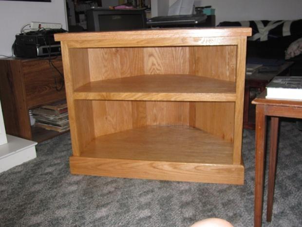 Brilliant Common Dark Oak Corner TV Cabinets With Tv Stand Plans Corner Tv Stand Plans Easy Diy Wood Project (Image 14 of 50)
