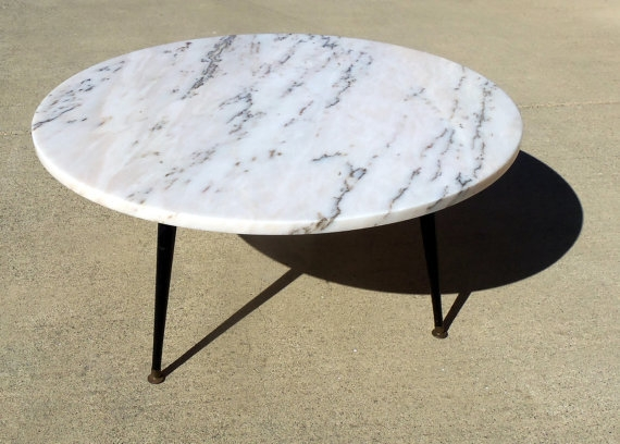 Brilliant Common Marble Round Coffee Tables For Round Marble Coffee Table (Image 9 of 50)