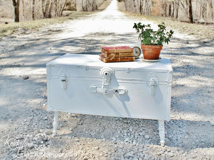 Brilliant Common Old Trunks As Coffee Tables Intended For 35 Best Military Trunk Images On Pinterest Trunks Trunk Coffee (Image 6 of 50)