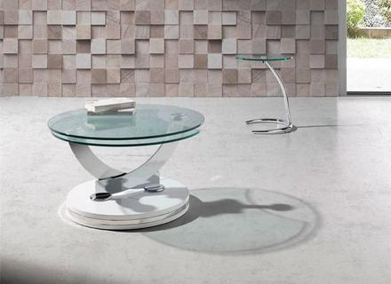 Brilliant Common Swivel Coffee Tables Pertaining To Round Glass Coffee Table Jerichomafjarproject (View 19 of 50)
