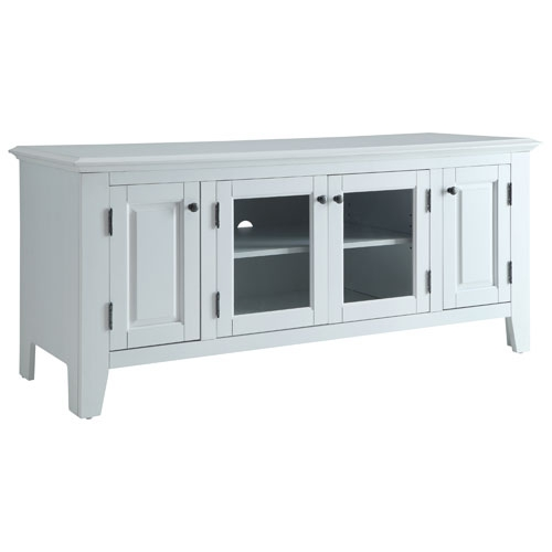 Brilliant Common White TV Stands With Regard To Marcus Tv Stand For Tvs Up To 55 Mc70055 White Tv Stands (View 32 of 50)