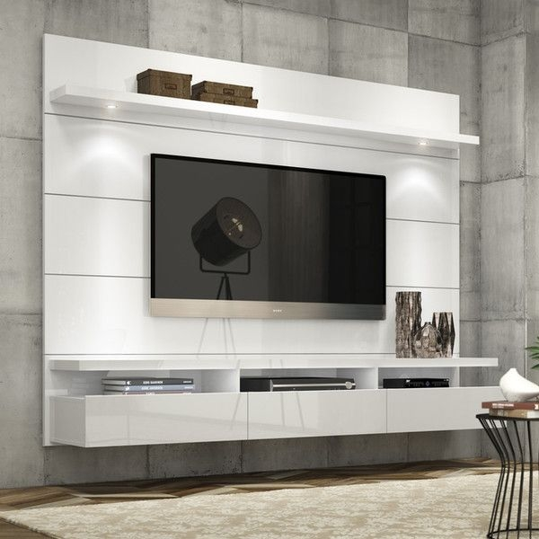 Brilliant Common White Wall Mounted TV Stands Inside Best 25 Floating Tv Stand Ideas On Pinterest Tv Wall Shelves (Image 13 of 50)