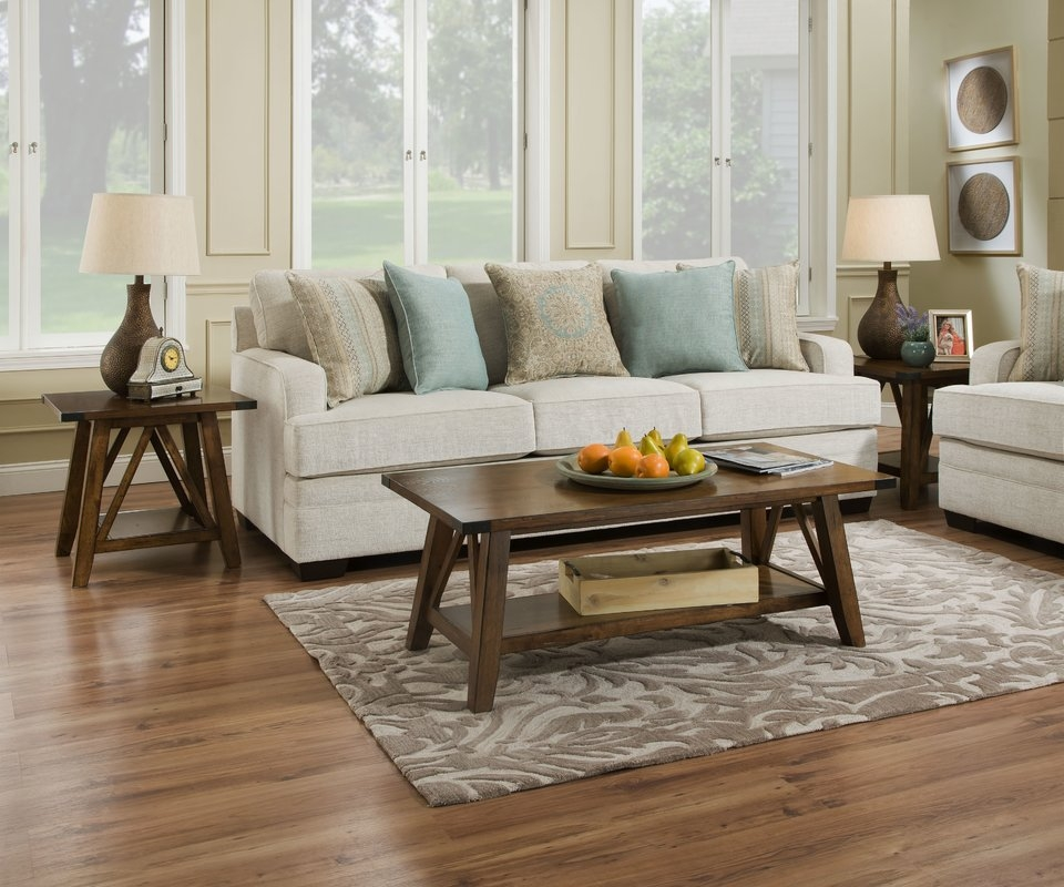 Brilliant Deluxe 2 Piece Coffee Table Sets With Regard To Loon Peak David 2 Piece Coffee Table Set Reviews Wayfair (View 18 of 50)
