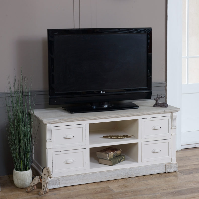 Brilliant Deluxe Cream TV Cabinets Pertaining To Tv Cabinets Tv Stands Television Sky Dvd Storage Melody (Image 10 of 50)