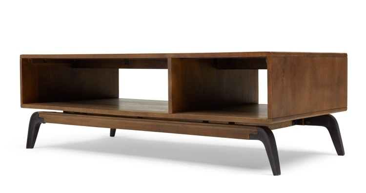 Brilliant Deluxe Dark Mango Coffee Tables With Lucien Coffee Table Dark Mango Wood Made (Image 5 of 40)
