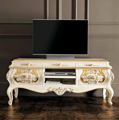 Brilliant Deluxe Gold TV Stands With Freds Bedroom Furniture (View 9 of 50)