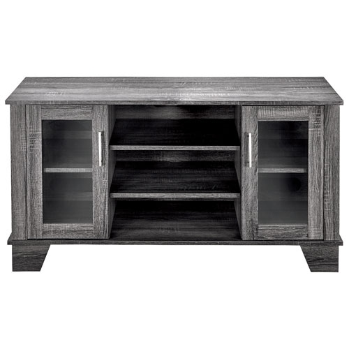 Brilliant Deluxe Grey TV Stands Pertaining To Insignia Tv Stand For Tvs Up To 50 Light Grey Tv Stands (Image 12 of 50)
