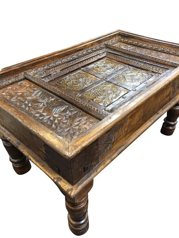 Brilliant Deluxe Indian Coffee Tables Pertaining To 64 Best Indian Antique Furniture Images On Pinterest Antique (Image 7 of 40)
