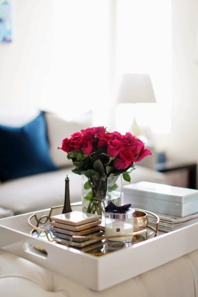 Brilliant Deluxe Round Coffee Table Trays With Regard To Best 25 Tray Styling Ideas On Pinterest Coffee Table (Image 9 of 50)