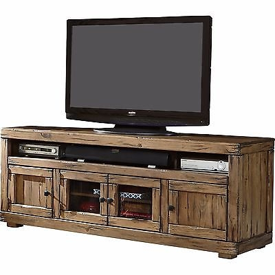 Brilliant Deluxe Rustic Furniture TV Stands For Rustic Tv Stand Console Entertainment Center 60 Furniture Media (Image 9 of 50)