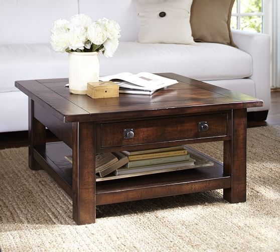 Brilliant Deluxe Square Dark Wood Coffee Table In 28 Best Coffee Tables Images On Pinterest Living Room Ideas (Image 7 of 40)
