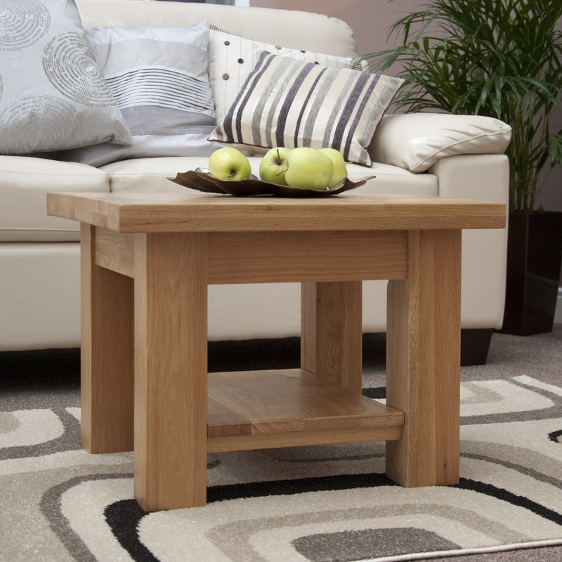 Brilliant Deluxe Torino Coffee Tables Regarding Torino Oak Occasional The Cotswold Collection (Image 8 of 40)