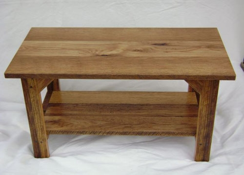 Brilliant Deluxe White And Oak Coffee Tables Regarding Reinbarnation Gallery Tables (Image 9 of 50)