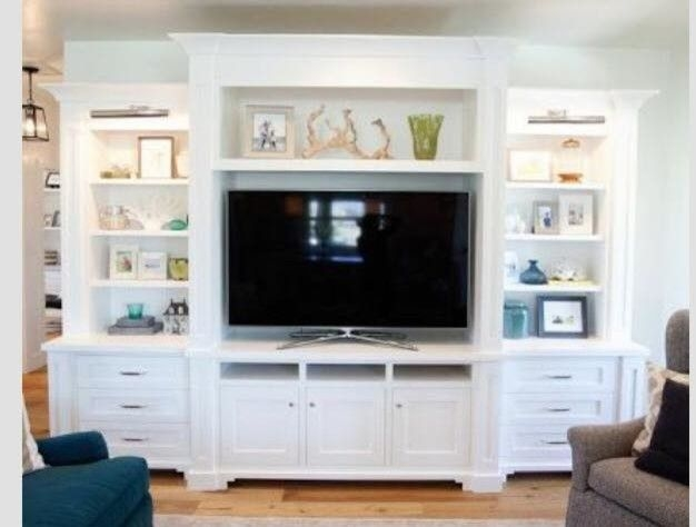 Brilliant Deluxe White Painted TV Cabinets Throughout 56 Best Tv Stand Images On Pinterest Tv Stands Tv Cabinets And Home (View 19 of 50)