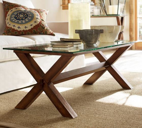 Brilliant Elite Ava Coffee Tables In Ava Wood Glass Rectangular Coffee Table Espresso Stain (Image 9 of 50)