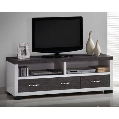Brilliant Elite Brown TV Stands With Wholesale Interiors Baxton Studio 21 Tv Stand Reviews Wayfair (View 45 of 45)