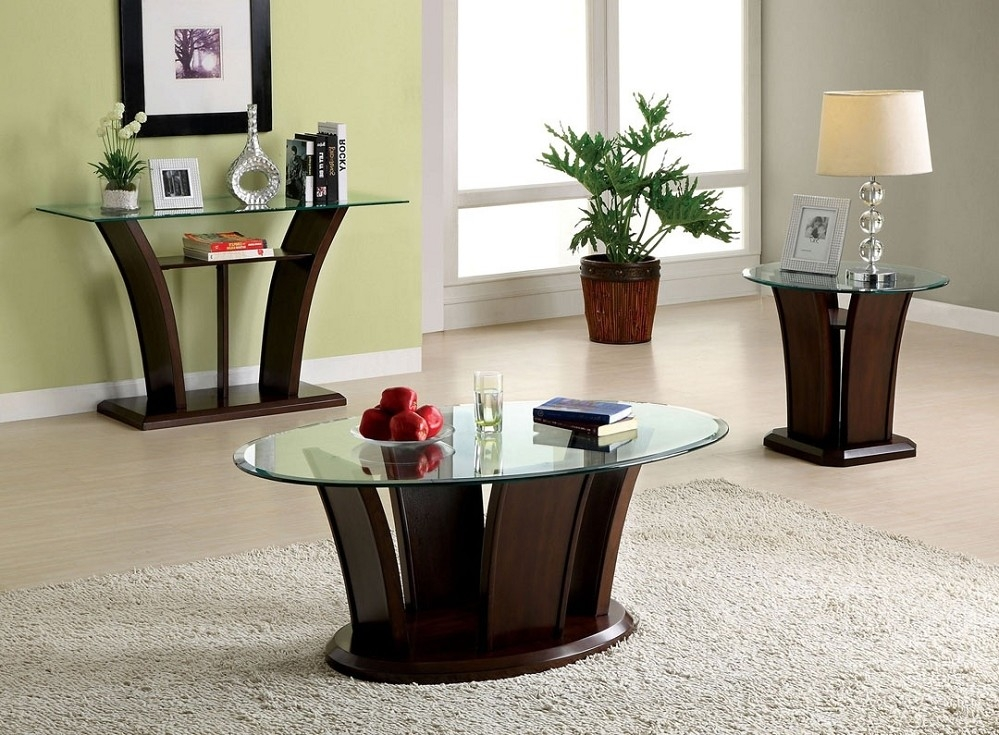 Brilliant Elite Cherry Wood Coffee Table Sets Intended For Cherry Wood Coffee Table Oval Cherry Wood Coffee Table Ebay (View 5 of 50)