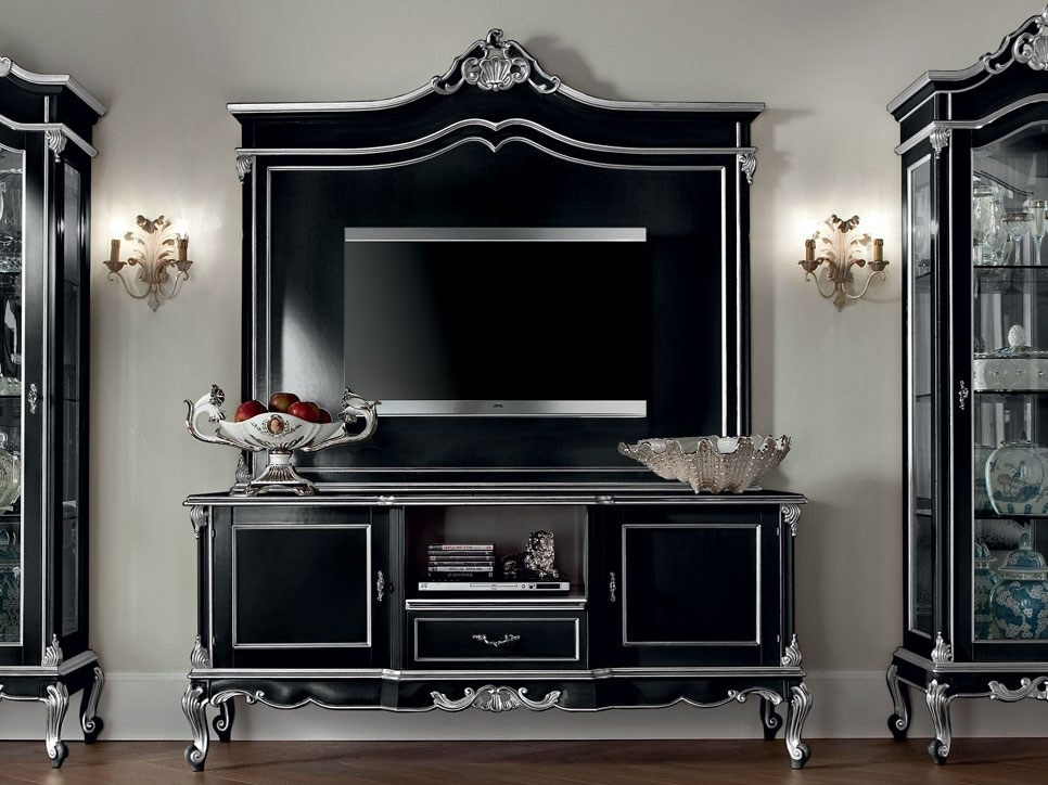 Brilliant Elite Classic TV Cabinets Pertaining To 12110 Tv Cabinet Modenese Gastone (Image 13 of 50)