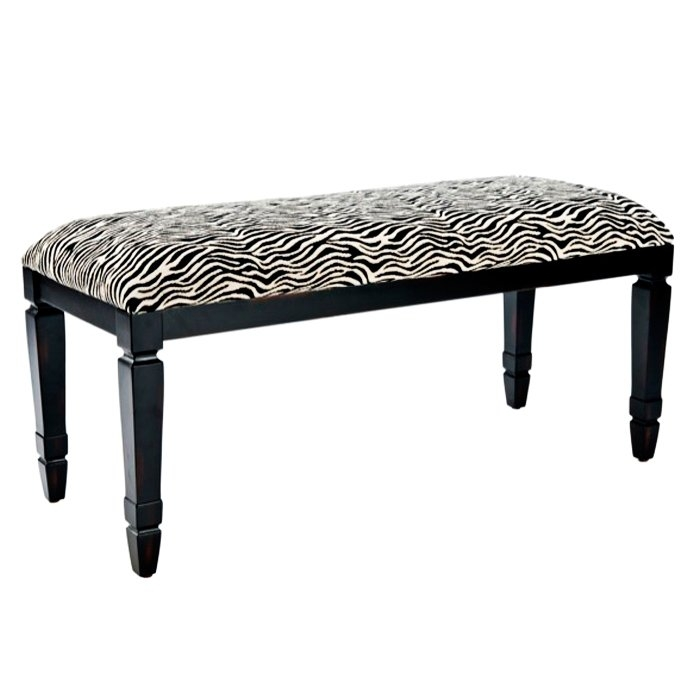 Brilliant Elite Leopard Ottoman Coffee Tables Within Animal Print Benches Youll Love Wayfair (View 27 of 40)