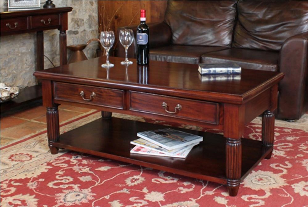Brilliant Elite Mahogany Coffee Tables Pertaining To Antique Mahogany Coffee Table (Image 5 of 50)
