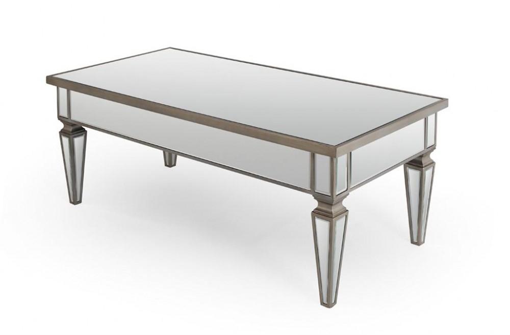 Brilliant Elite Mirrored Coffee Tables Inside Elegant Mirrored Coffee Tables Design (View 22 of 50)