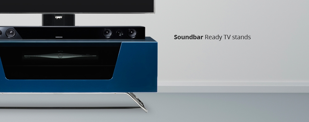 Brilliant Famous 100cm TV Stands In Tv Stands With Sound Bar (Image 16 of 50)