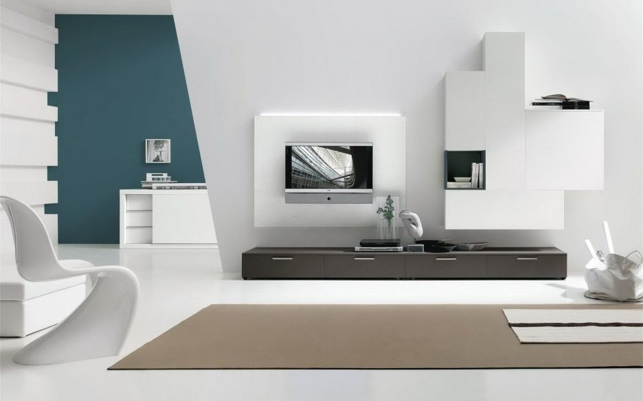Brilliant Famous Cream Gloss TV Stands Regarding Living Room Amazing Floating Tv Stand Living Room Furniture With (Image 8 of 50)