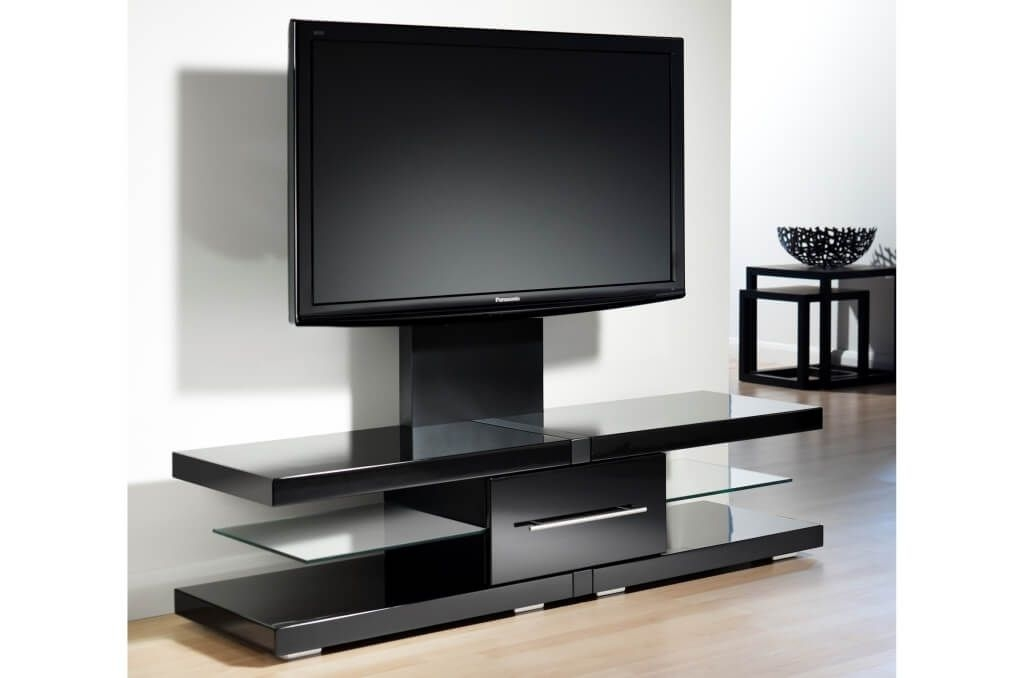 Brilliant Famous Dark Wood TV Cabinets Within Furniture Enchanting White And Dark Oak Modern Tv Stands With (Image 9 of 50)