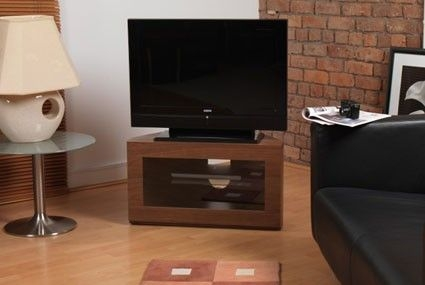 Brilliant Famous Iconic TV Stands In Iconic Manzini Walnut Corner Tv Stand For 24 To 32 Tvs Suits (View 15 of 50)