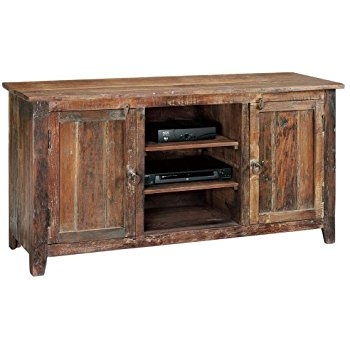 Brilliant Famous Mango Wood TV Cabinets Pertaining To Amazon Holbrook Tv Stand 58w Rclmed Natural Patio Lawn (Image 8 of 50)