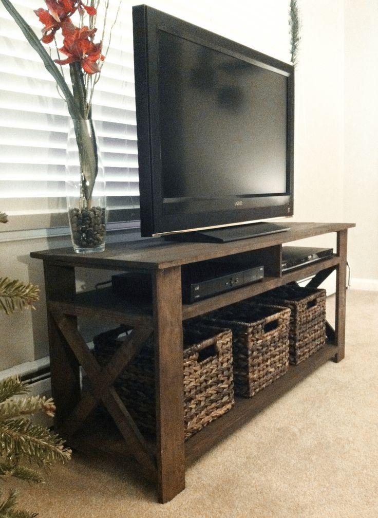 Brilliant Famous Rectangular TV Stands In Best 25 Diy Tv Stand Ideas On Pinterest Restoring Furniture (Image 12 of 50)