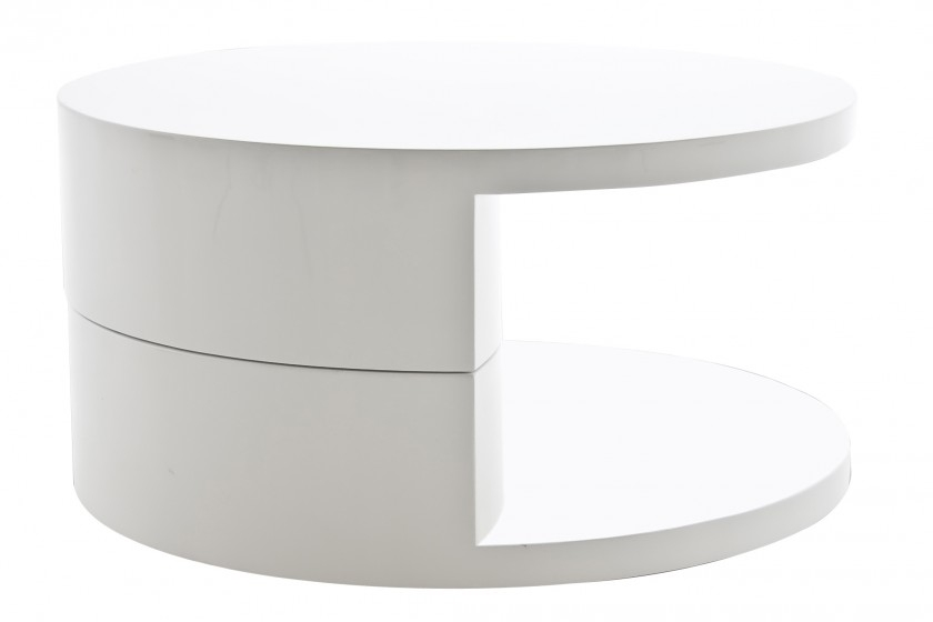 Brilliant Famous Round High Gloss Coffee Tables Regarding Round High Gloss Coffee Table (View 38 of 50)