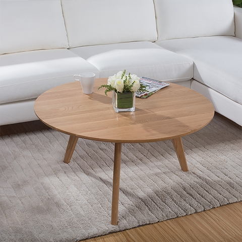 Brilliant Famous Round Oak Coffee Tables Within Coffee Table Good Wood Coffee Table Scandinavian Minimalist (View 25 of 40)