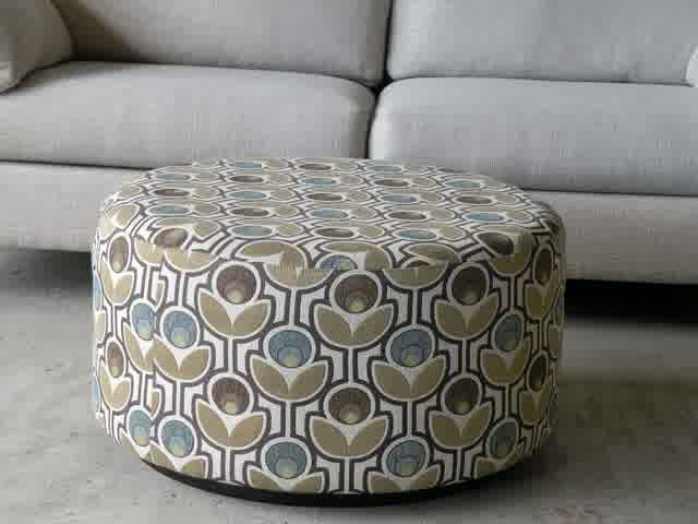 Brilliant Famous Round Upholstered Coffee Tables For Coffee Table Awesome Round Ottoman Coffee Table Upholstered Large (Image 9 of 40)