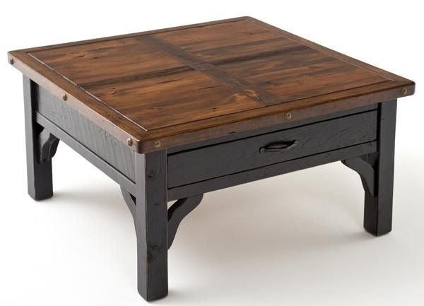 Brilliant Famous Solid Wood Coffee Tables Inside Great Square Wood Coffee Table Solid Wood Square Coffee Table (Image 13 of 50)