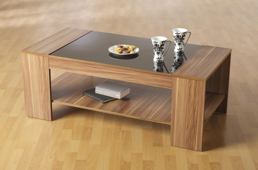Brilliant Famous Square Dark Wood Coffee Table In Coffee Table Standard Furniture Round With Storage Square Dark (Image 8 of 40)