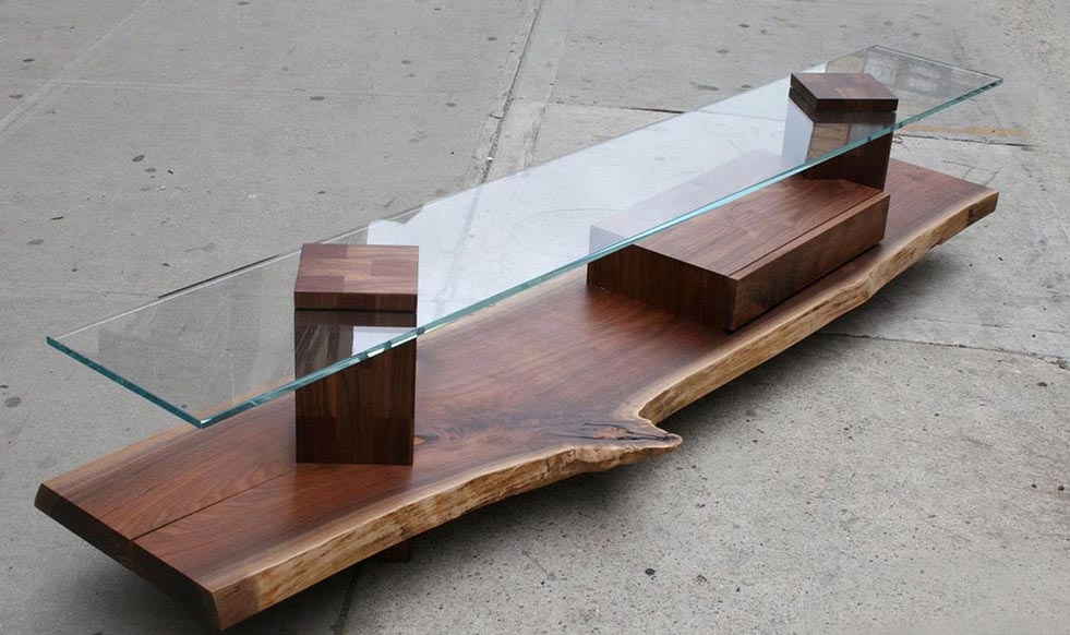Brilliant Famous Thin Coffee Tables Regarding Great Skinny Coffee Table For Small Spaces (Image 10 of 50)