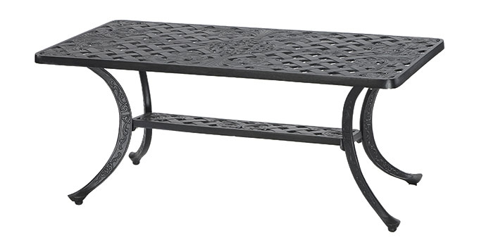 Brilliant Famous Verona Coffee Tables Pertaining To Verona 21 X 42 Rectangular Coffee Table Gensun Casual Living (View 41 of 50)