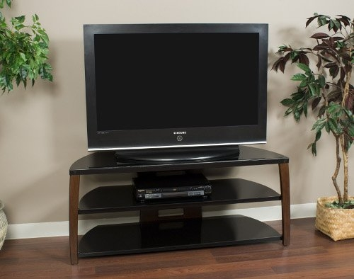 Brilliant Fashionable Corner TV Stands For 60 Inch TV Within Amazon Techcraft Hbl60 60 Inch Wide Flat Panel Tv Stand (Photo 50 of 50)