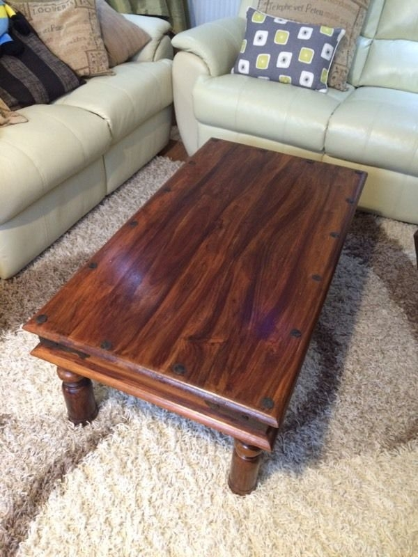 Brilliant Fashionable Dark Mango Coffee Tables Pertaining To Dark Mango Coffee Table In Banbury Oxfordshire Gumtree (Image 7 of 40)