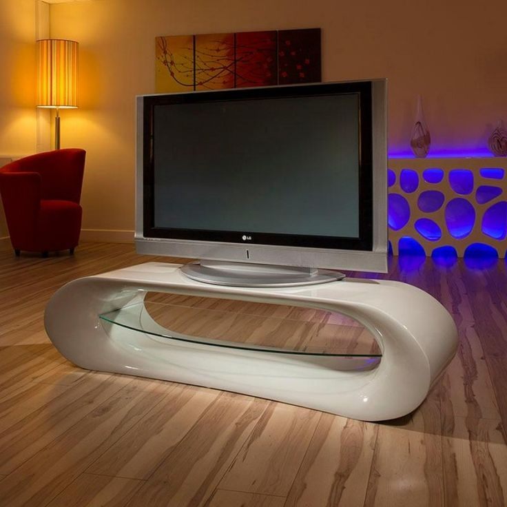 Brilliant Fashionable Large White TV Stands Inside 46 Best Stylish Television Cabinets Images On Pinterest Living (Image 11 of 50)