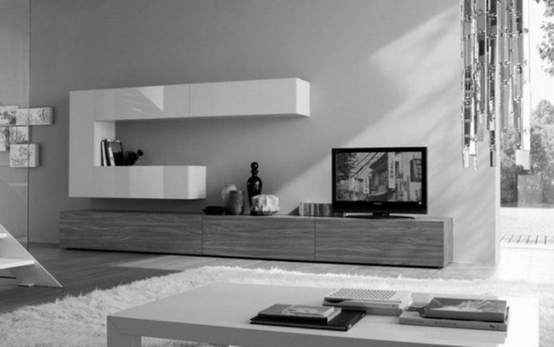 Brilliant Fashionable Modern TV Stands For 60 Inch TVs Throughout 60 Inch Tv Stands Black 60inch Black Wood Tv Stand With Storage (Image 7 of 50)