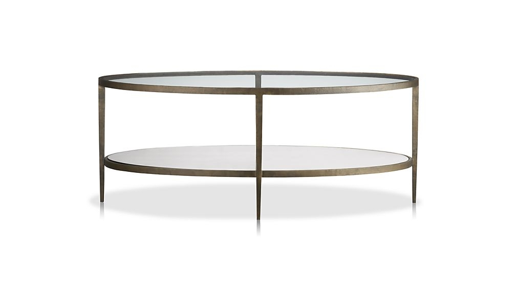 Brilliant Fashionable Oval Black Glass Coffee Tables With Coffee Table Enchanting Oval Coffee Table Oval Glass And Wood (Image 12 of 50)
